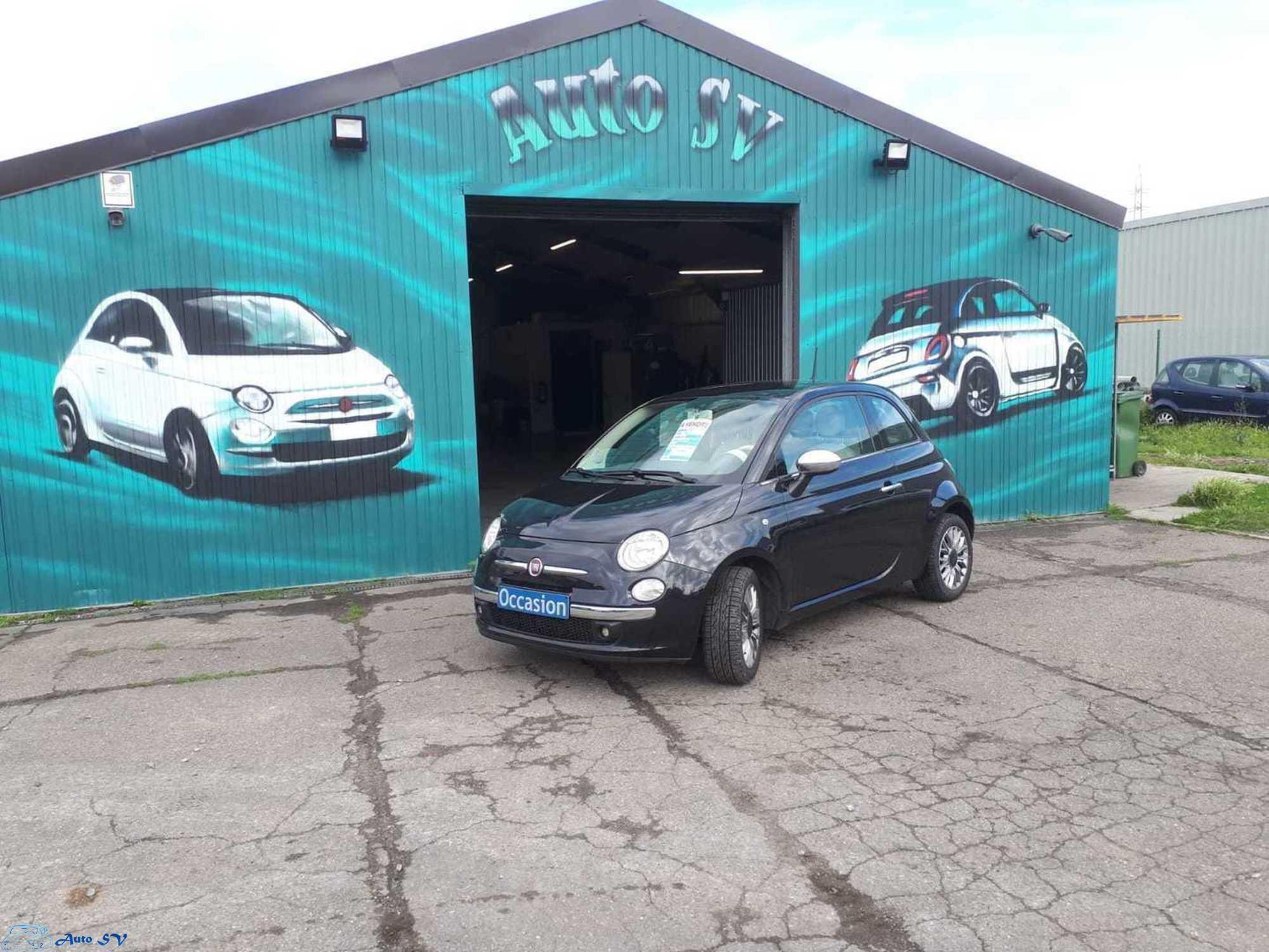 Auto SV achat vente Fiat 500